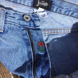 Boho High Waist Mom Jeans For Joseph Vintage
